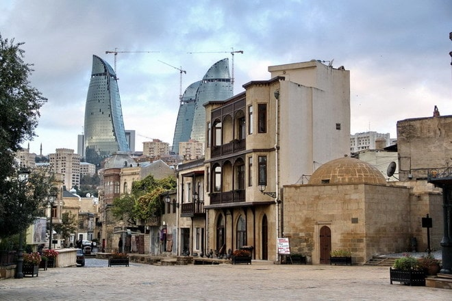 Old city in baku
