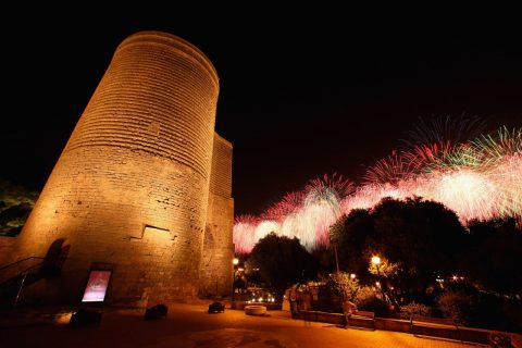 Maiden tower-Baku